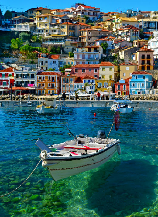 Parga Itinerary White Sails