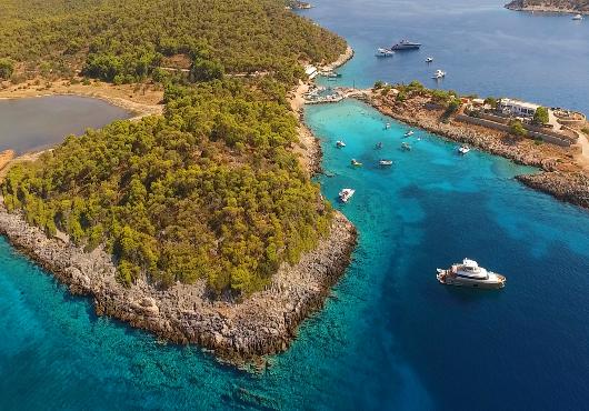 Aegina Itinerary White Sails