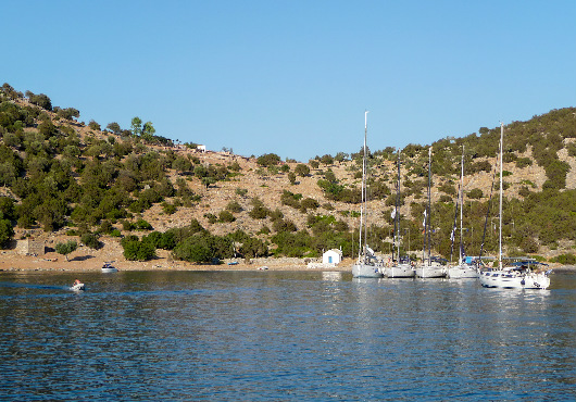 Dokos Itinerary White Sails