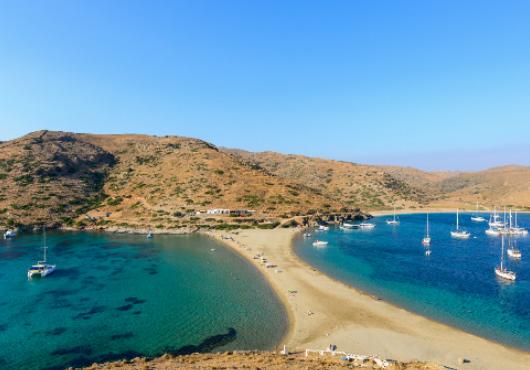 Kythnos Beach Itinerary White Sails