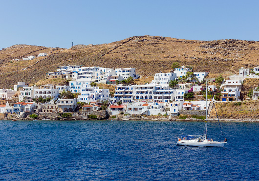 Kythnos Sailing Itinerary White Sails