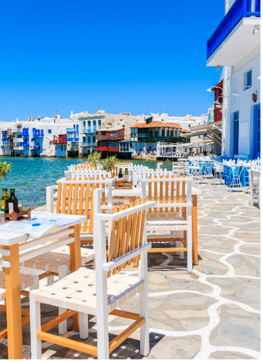 Mykonos Little Venice Itinerary White Sails