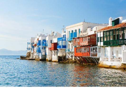 Mykonos Little Venice Unique Itinerary White Sails