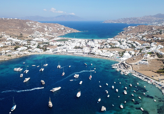 Mykonos Ornos Itinerary White Sails