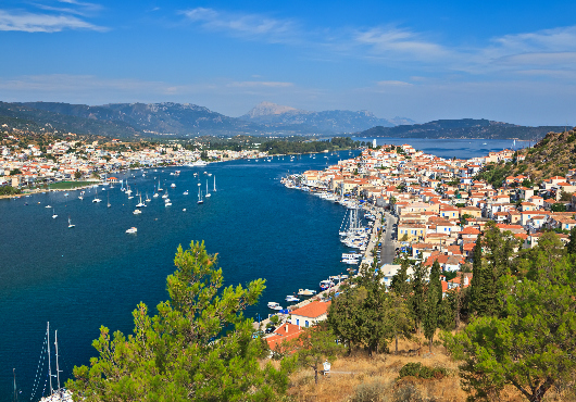 Poros Itinerary White Sails