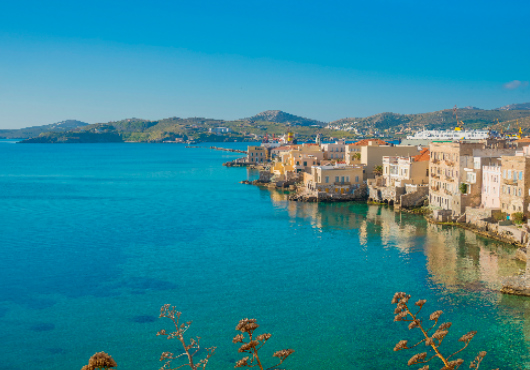 Syros Itinerary White Sails